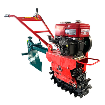 177 Gasoline multi-function micro tiller diesel engine plow agricultural machinery cultivator rotary tiller soil cultivator agricultural wastes as soil amendments for cowpea cultivation