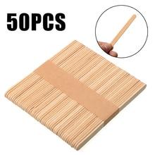 Shellhard 50 قطعة خافض اللسان المتاح خشبية إزالة الشعر الوشم الصبح عصا اللسان ل أدوات التجميل 114 مللي متر x 10 مللي متر x 2 مللي متر