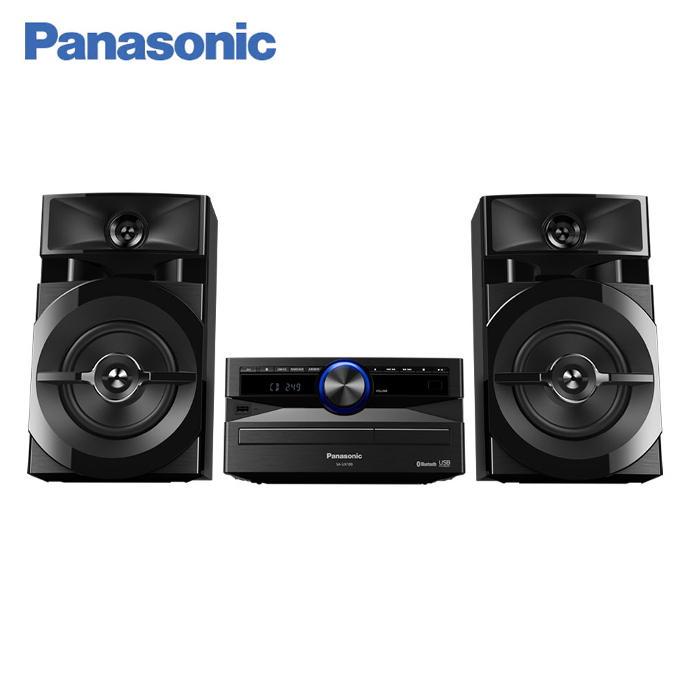 Desktop Digital Music Player Panasonic  SC-UX100EE-K Bluetooth MAX Juke app Minisystem audio s150 4g remote alarm controller gsm sms 8 digital inputs relay switch supports android app ios app