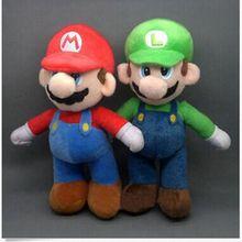 25 см Супер Марио Bross Мягкая Плюшевая Кукла животного, Дети Рождественский подарок игрушка