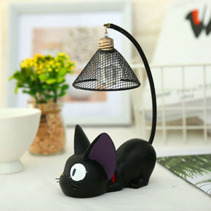 New LED Night Lamp Creative Resin Cat Animal Night Lamp Ornaments Home Decoration Kitty Table Lamp Children's Cartoon Room Lamp