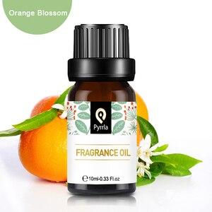 Pyrrla 10 мл апельсиновый цвет ароматическое масло для ароматерапии диффузор свежий воздух цитрусовые клубника персик манго фрукты эфирное ма...