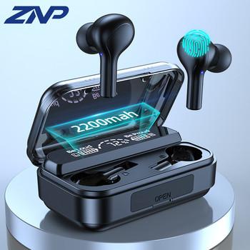 TWS słuchawki bezprzewodowe z Bluetooth LED słuchawki 9D Hifi sport wodoodporne słuchawki douszne Bluetooth 5 0 słuchawki douszne z mikrofonem tanie i dobre opinie Dynamiczny CN (pochodzenie) wireless 120±3dBdB 0Nonem Dla Telefonu komórkowego Do Gier Wideo Słuchawki HiFi Wspólna Słuchawkowe