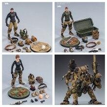 2 peça joytoy 1/18 escala ação robô 09st legion-mecha cavalaria sargento major empresa comandante capitão modelo de brinquedo