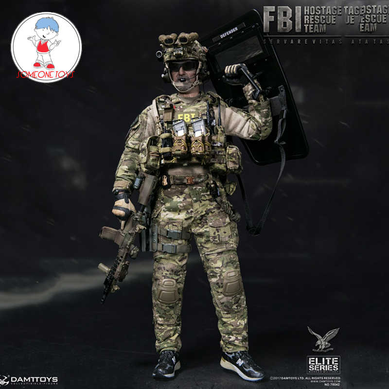 Bungee w// Clip Hostage Rescue Team 1//6 Scale Damtoys Action Figures