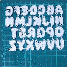 24 алфавита буквы украшения металлические стальные рамки режущие