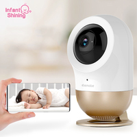 Infant Shining Baby Monitor Security Camera High Resolution Baby Sleeping Nanny Cam Night Vision Home Security Babyphone Camera