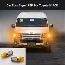 2PCS Car Turn Signal LED Command light headlight modification  For Toyota HIACE 12V 10W 6000K