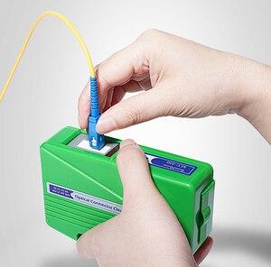 Optical Fiber Connector Cleaner KCC-55 Fiber Conector Cleaning Box Cassette 500 Times Cassette Cleaner