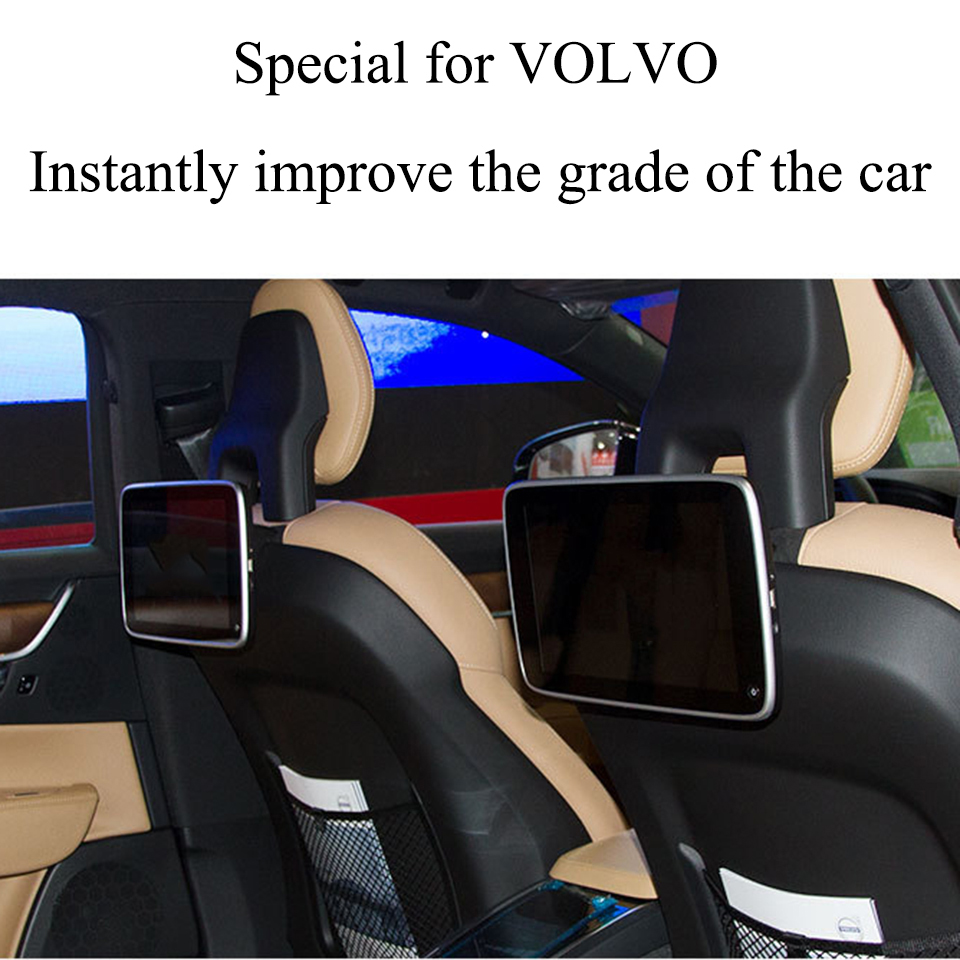 2020 NEW UI Style 11 Inch Android 8.1 Car Headrest Monitor For Volvo S60 XC90 XC60 XC40 S90 V90CC Rear Seat Entertainment System