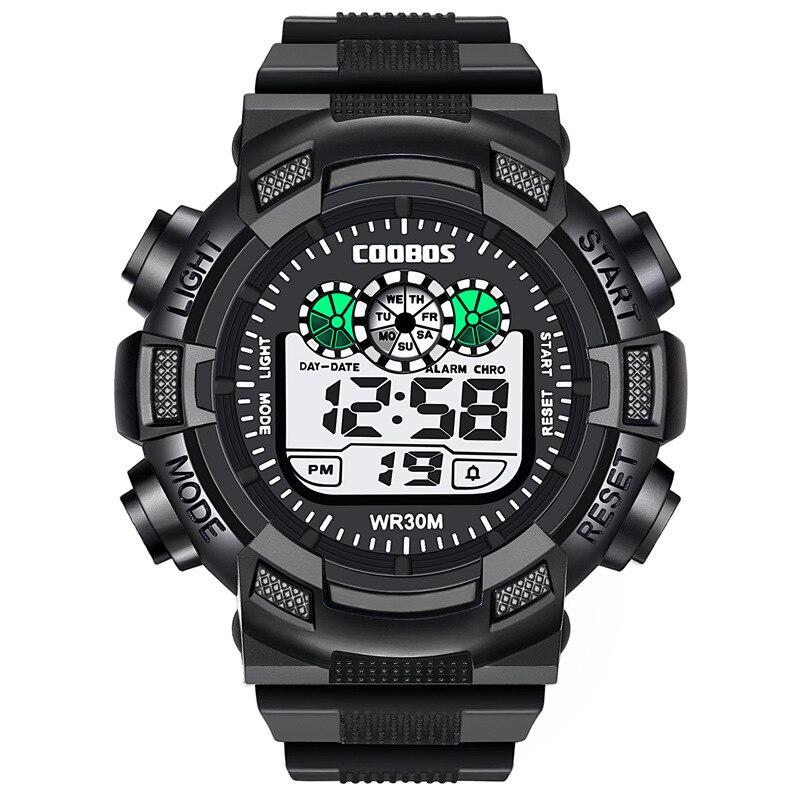 Дети часы для мальчика браслет светодиодный цифровой спорт часы мужские силикон резина часы дети светящиеся наручные часы часы подарок Relogio