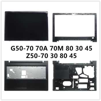 New laptop For Lenovo G50-70 75 80 30 45 Z50-70 30 80 45 LCD Back Cover Top Case/Front Bezel/Palmrest/Bottom Base Cover Case image