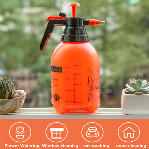 Image 5 - Pressurized high pressure spray bottle fine mist spray bottle watering flower car washing household scale disinfection cleaning