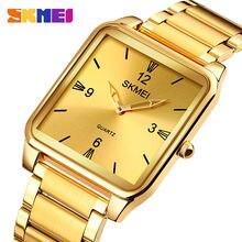Часы наручные skmei Мужские кварцевые брендовые простые с браслетом