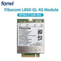 Fibocom L860 GL 4g módulo wlan cartão LTE A pro cat16 1 gbps sps # L27188 001 sem fio wwan cartão para hp elitebook x360 830 840 850|Modems 3G| |  -