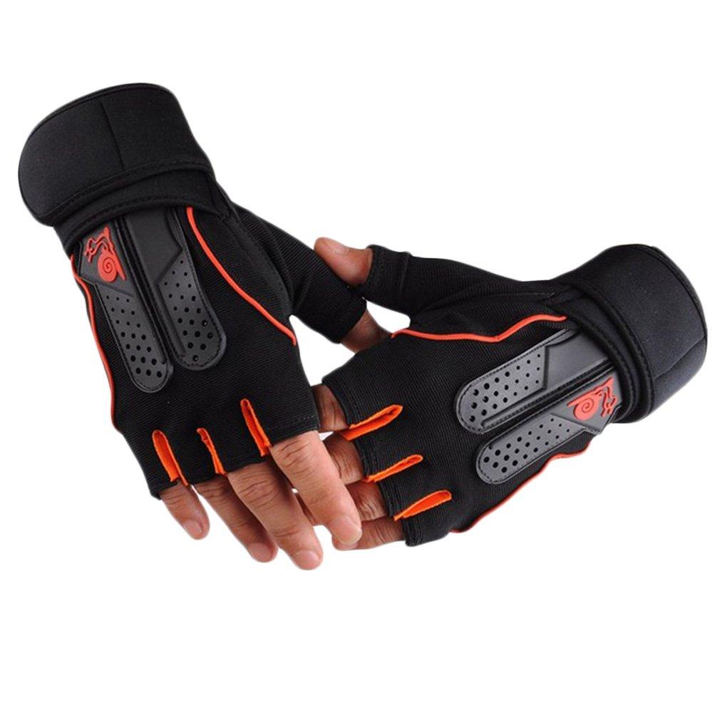 Work Gloves Fitness Exercise Training Gym Gloves Half Finger Weightlifting Gloves Multifunction For Men Women Hot Sale