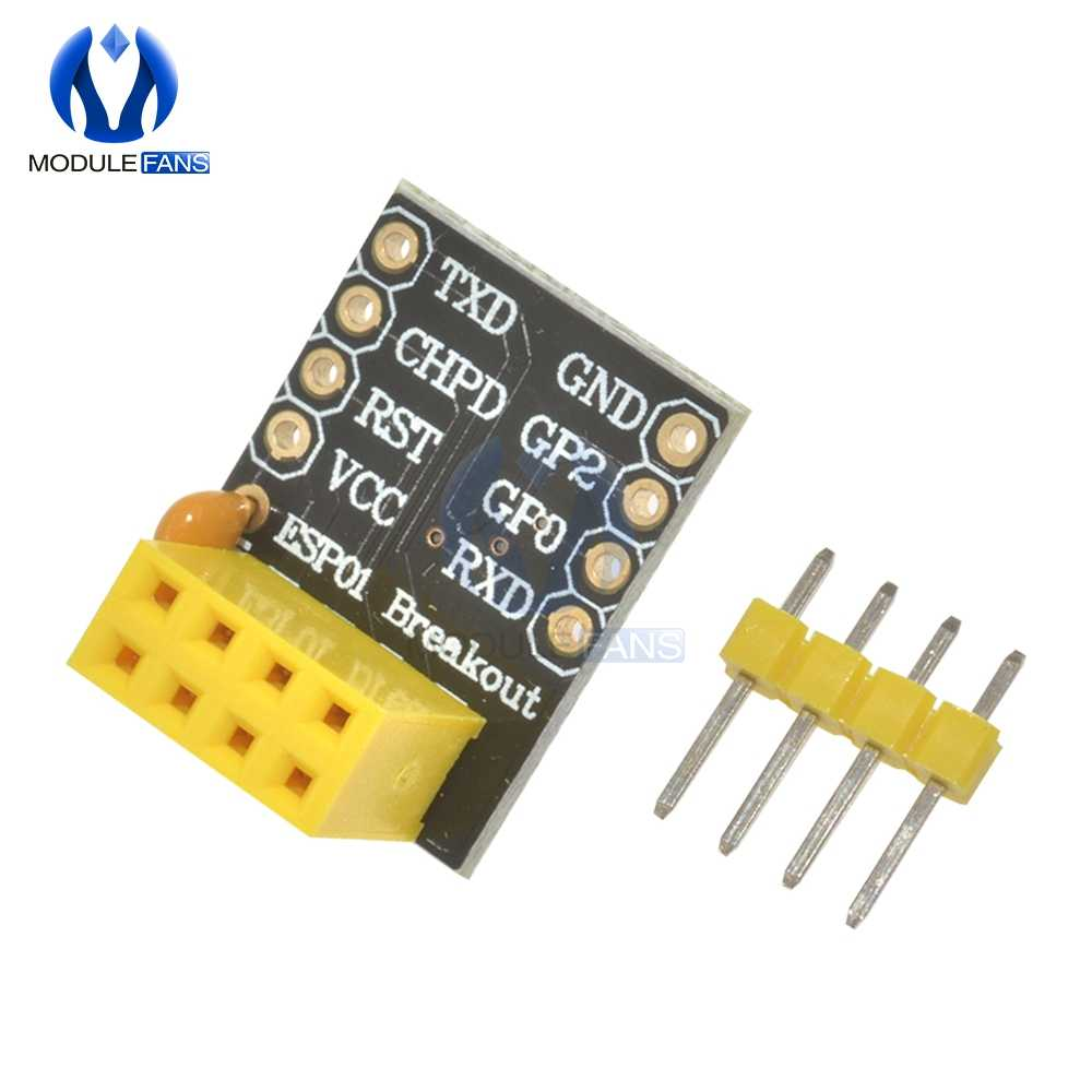 Para ESP-01 Esp8266 ESP-01S MODELO DE LA ESP8266 serie adaptador de tabla para el pan a transceptor wi-fi Módulo de adaptación UART módulo