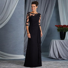 Basic-Dresses Mid-Sleeve Work Floral Lace Evening-Party-Date Bodycon Spring Summer See Through