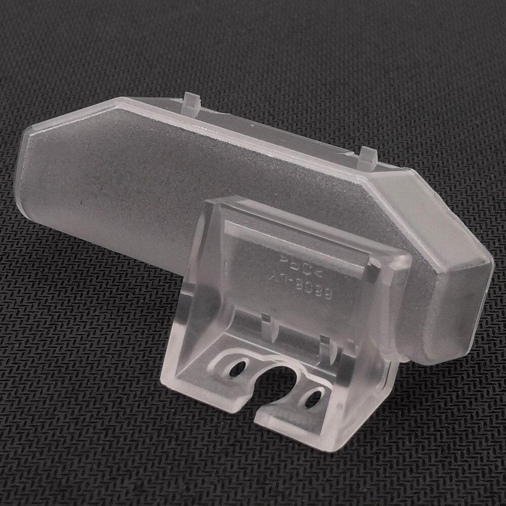 YIFOUM 10 stücke Auto Rückansicht Parkplatz Backup-Kamera Halterung Lizenz Platte Lichter Für Mazda 6 GG GH Ruiyi RX-8 CX-9 TB Atenza