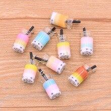 Mix-Color Pendant Necklace Transparent Charm Diy Earring Milk Bracelet Jewelry-Making