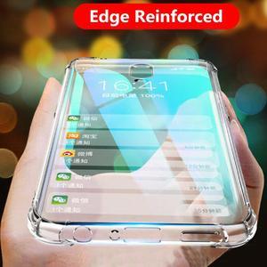 Edge Reinforced Soft TPU case For Xiaomi Redmi Note 7 8 6 Pro 5 Plus case Silicon For Redmi K20 Pro GO 7 6 Pro 4 4A 4X 5A 3S S2