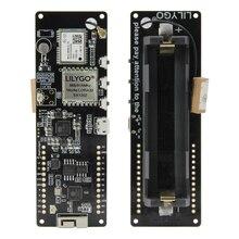 LILYGO®TTGO Poutre en T V1.1 SX1262 LORA 868/915MHZ ESP32 WiFi Sans Fil Bluetooth Module GPS NEO M8N IPEX 18650 Support de batterie