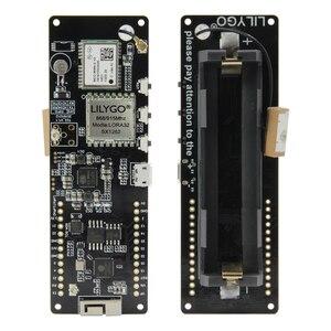 LILYGO®TTGO T-Beam V1.1 SX1262 LORA 868/915 МГц ESP32 WiFi беспроводной Bluetooth модуль GPS Φ IPEX 18650 Держатель аккумулятора