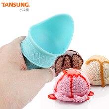Держатель для мороженого, креативные домашние чашки для мороженого, пластиковые чашки для мороженого, силиконовые вечерние чашки для мороженого