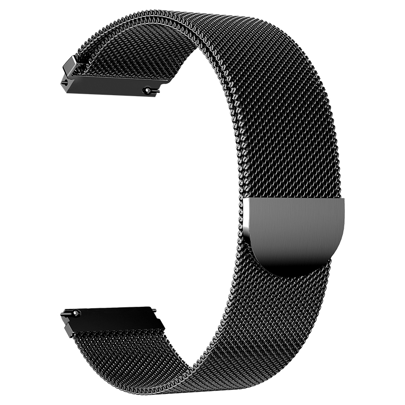 Milanese loop For Samsung galaxy watch 46mm 42mm Gear S3 22mm 20mm Frontier Classic active Band huami amazfit bip huawei gt in Watchbands from Watches