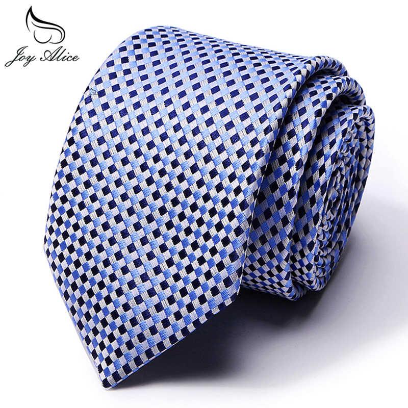 100% ผ้าไหม Tie Skinny 7.5 ซม.เนคไทดอกไม้สูงแฟชั่นลายสก๊อตสำหรับชายผ้าฝ้ายบาง cravat neckties Mens 2019 gravatas