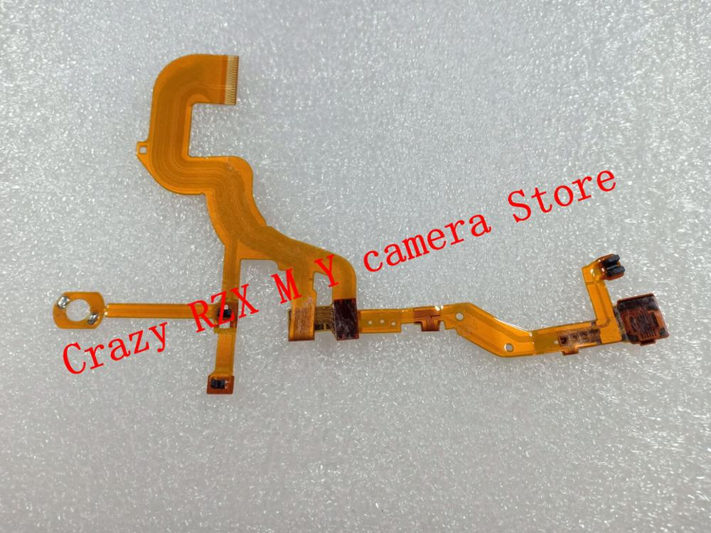 95%NEW <font><b>Lens</b></font> Back Main Flex Cable For <font><b>SONY</b></font> DSC-WX300 DSC-<font><b>WX350</b></font> WX300 <font><b>WX350</b></font> Digital Camera Repair Part + Sensor + Socket image