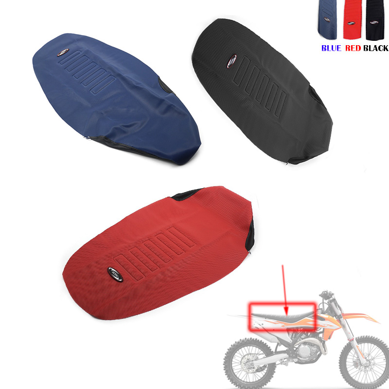 Seat Cover Non-slip Diamond Pattern Stretchy For KTM 150 250 300 350 450 500 EXC EXCF TPI SIX DAYS 2017 - 2020   690 SMC LC4