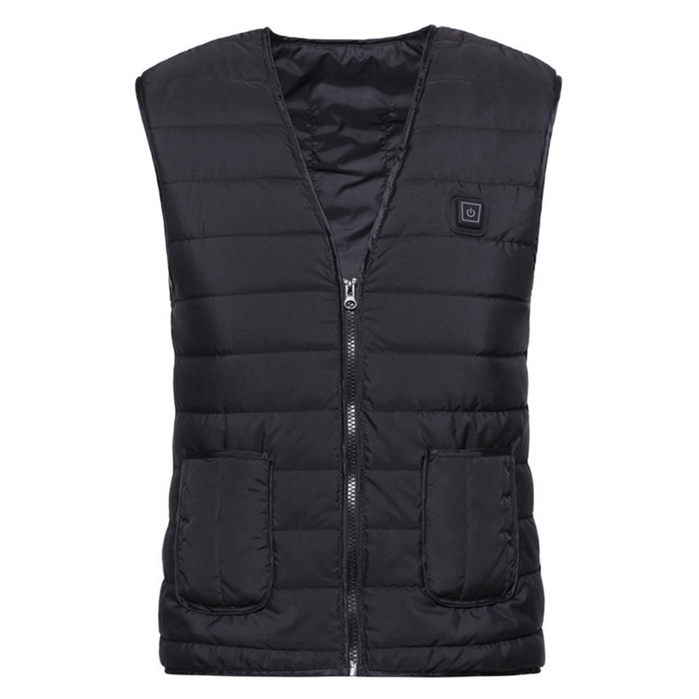 2019 NEW Heating Electric Vest USB Charging Heated Vest Cold-Proof Washable Clothes For Unisex Autumn And Winter