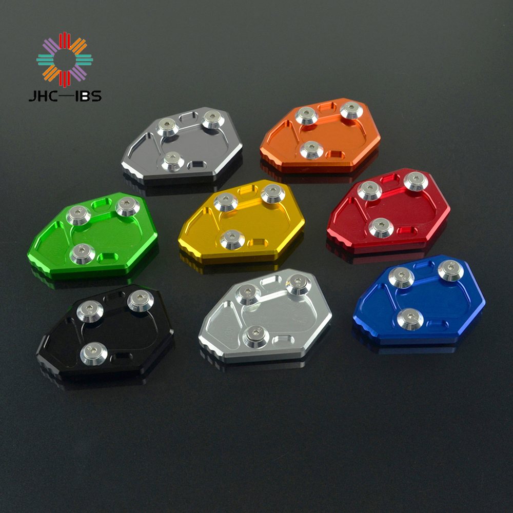 CNC Side Stand Kickstand Extension Plate Foot Pad For BMW S1000R S 1000 R 2009-2014 2009 10 11 12 13 14 Motorcycle