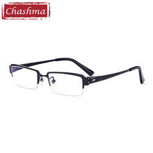 Men Prescription Glasses Top Quality Frame Titanium Eyeglasses IP Plating Not Lose Color