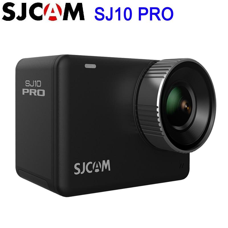 SJCAM-Cámara de acción remota SJ10 Pro, estabilizador giroscópico supersuave, WiFi, Chipset H22, 4K/60FPS EIS, Ultra HD, para deportes extremos