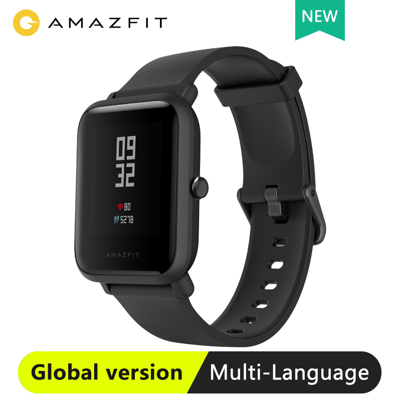 Amazfit Smartwatch Bip-Lite Xiaomi Huami Global-Version with 45-Days-Standby GPS Lightweight