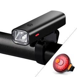 2000 MAh Senter untuk Sepeda USB Rechargeable Sepeda Lampu Depan untuk MTB ROAD Bersepeda Stang Lampu Depan Lampu 400Lumen