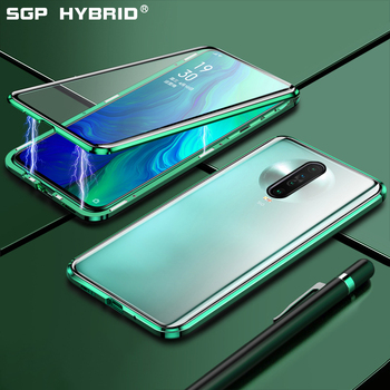 360 Double Sided Metal Magnetic Case For Redmi K30 K20 Pro Tempered Glass Transparent Back Cover For Redmi Note 8 8t 7 Pro Cases