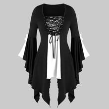 цена на Women Dress Fashion Ruffle Sleeves Off Shoulder Gothic Midi Dress Summer Casual Female Beach Dress Vestidos Plus Size 6XL  9.11