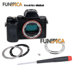 Image 5 - Nieuwe Camera Mount Ring Voor Sony A7 A7R Alle Metalen Tough E Mount Sony Lichaam E Bajonet Versterking Kit camera Reparatie Onderdelen