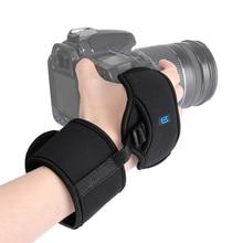 מצלמה יד גריפ רצועת יד חגורת עבור Nikon Canon Sony אולימפוס DSLR SLR מצלמה צילום סטודיו אבזר