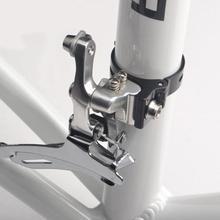 Зажим для сидения велосипеда, прочный алюминиевый велосипедный Подседельный штырь, адаптер с зажимом для велосипеда, Сменные аксессуары 31,8/34,9 мм