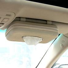 Case Car-Visor-Tissue-Holder Car-Accessories Paper Towel-Box Luxury