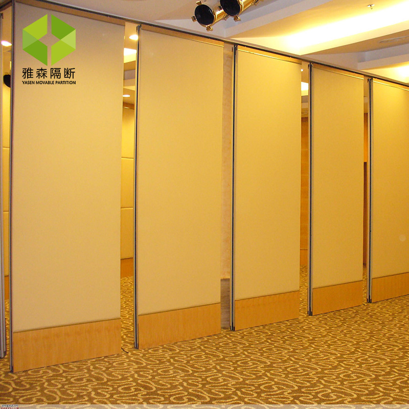 Meeting Room Multi-Function Hall China Mobile Partition Door Activity Partition Soundproof Wall Foldable Retractable Luminum Scr