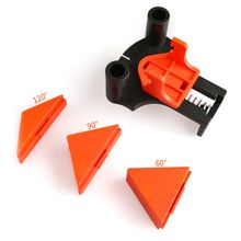 4pcs 90 Degree Clamp Right Angle Corner Fixing Frame Clips Holder Adjustable Spring Loaded Woodworking Tool