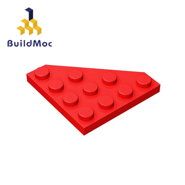 LEGO Lot of 12 Black 4x4 Corner Plate Pieces