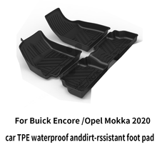 Buick encore opel mokka черный сверхпрочный напольный коврик