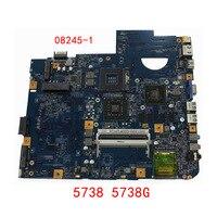HOLYTIME laptop Motherboard for ACER ASPIRE 5738 5738G JV50 MV 08245 1 48.4CG01.011 MBP5601007 MB.P5601.007 DDR3 PM45 Tested ok