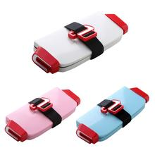 Portable Child Safety Seat Folding Baby Car Seat Safety Cushion Booster Car Harness Seat for Increase Baby Cushion for 0~12 Y